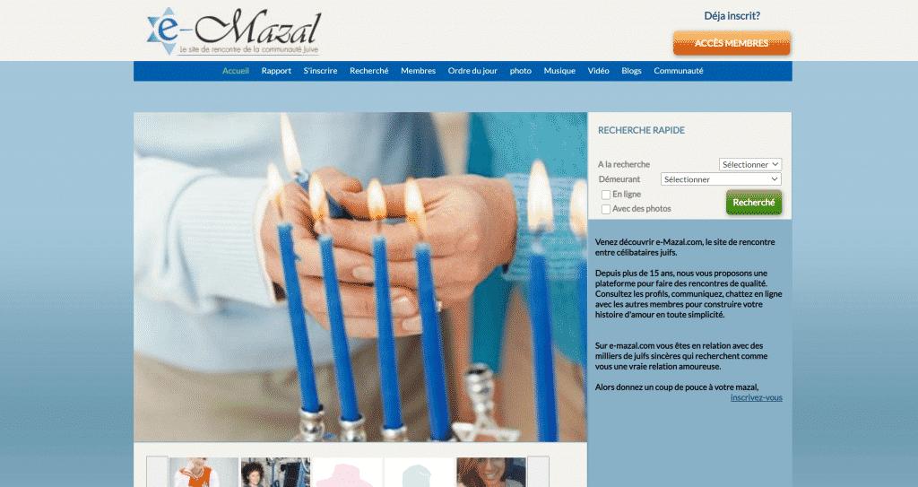 Un serio sito di incontri ebraici