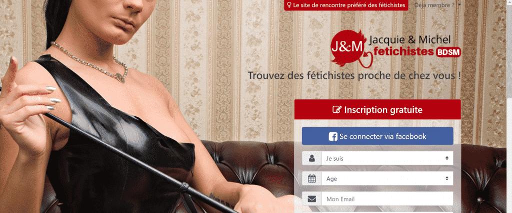 Site de rencontre fétichiste Jacquie & Michel