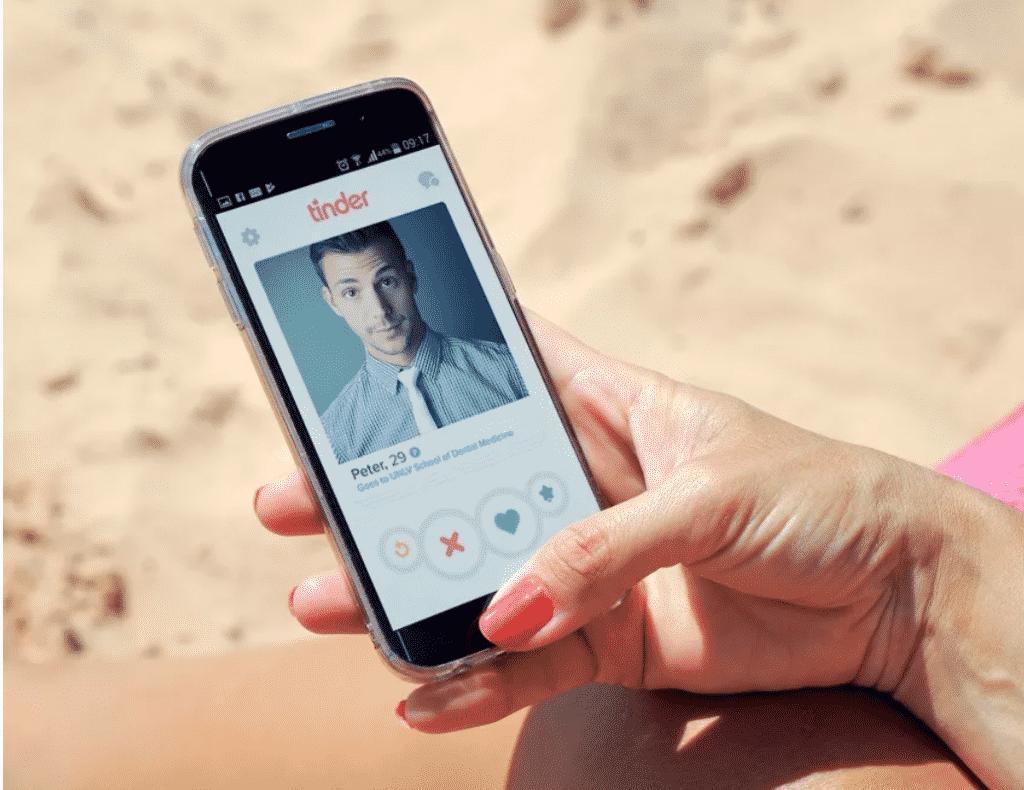 Application de rencontre Tinder