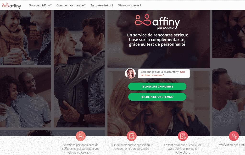 Affiny, site de rencontre gratuit